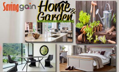 Home and Garden Discount code 2018