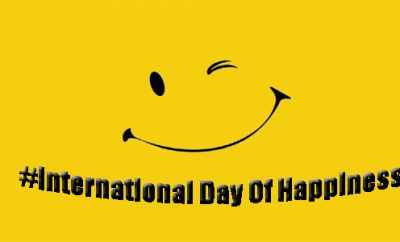 International Day of Happiness, Day of Happiness, United Nation Day of Happiness, Happy Day, World Happiness Day