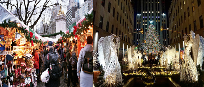 New-York-City-Christmas-Celebration-Savinggain.com, Where to go for Christmas
